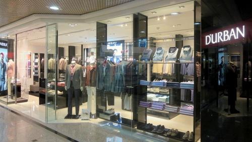 D'URBAN menswear shop Times Square Hong Kong.