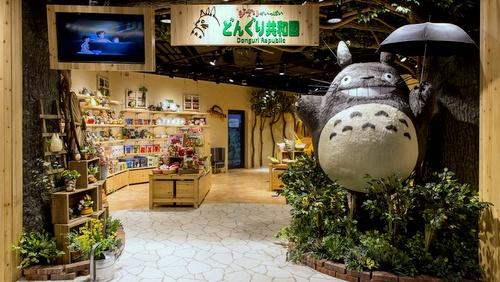 Donguri Republic store Times Square Hong Kong.