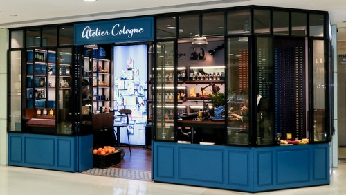 Atelier Cologne perfume store Harbour City Hong Kong.
