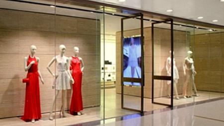 Elie Saab clothing shop Lee Gardens Hong Kong.