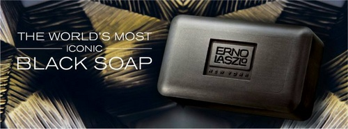 Erno Laszlo black cleansing soap bar Hong Kong.