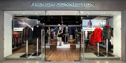 French Connection clothing shop Harbour City Hong Kong.
