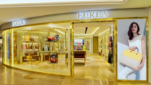 Furla bag & accessories shop Harbour City Hong Kong.