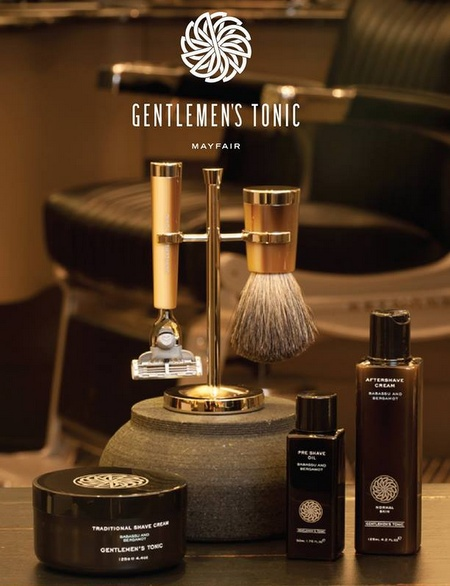 Gentlemen's Tonic barbershop Hong Kong.