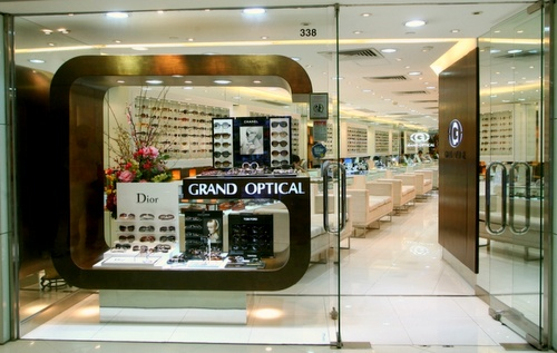 Grand Optical store Harbour City Hong Kong.