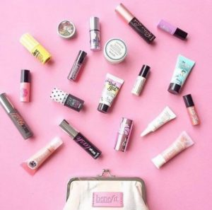 Benefit Cosmetics beauty products Hong Kong.