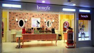 Benefit Cosmetics shop Tuen Mun Town Plaza Hong Kong.