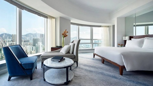 Cordis Hong Kong at Langham Place hotel's Club Room.