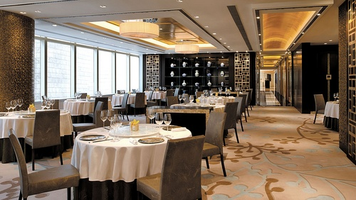 Cordis Hong Kong at Langham Place hotel's Ming Court Cantonese restaurant.