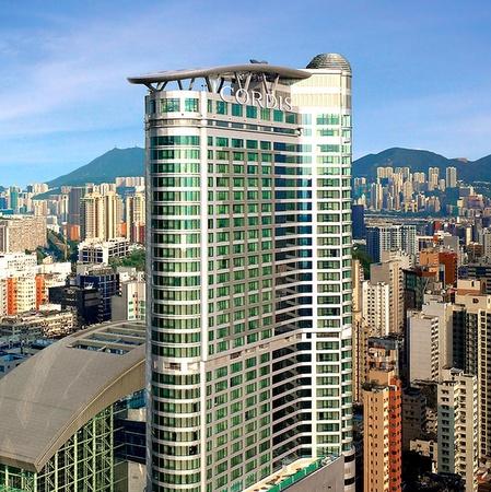 Cordis Hong Kong at Langham Place hotel.