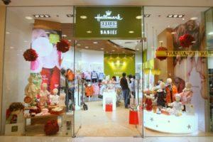 Hallmark Babies children's clothing shop Harbour City Hong Kong.