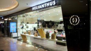 Helianthus bag shop Harbour City Hong Kong.