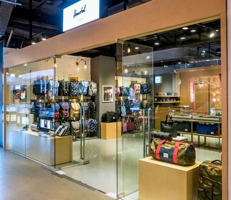 Herschel bag shop LCX Harbour City Hong Kong.