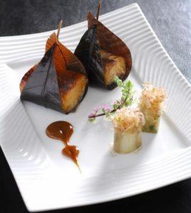 L'Atelier de Joël Robuchon French fine dining meal Hong Kong.