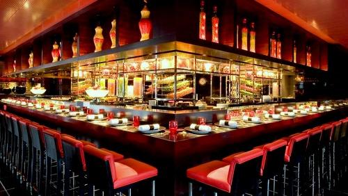 L'Atelier de Joël Robuchon French fine dining restaurant Hong Kong.