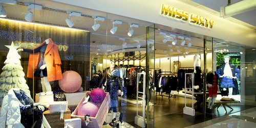 Miss Sixty clothing store K11 Art Mall Hong Kong.