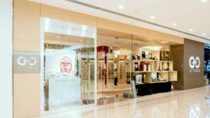 O-O Shop optical store Harbour City Hong Kong.
