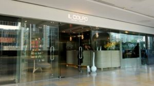 Il Colpo hair salon Pacific Place Hong Kong.