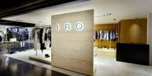 IRO clothing shop Silvercord Hong Kong.