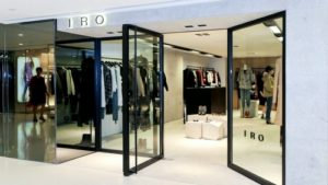 IRO clothing shop Harbour City Hong Kong.