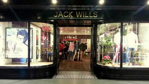 Jack Wills clothing boutique Ocean Centre Harbour City Hong Kong.