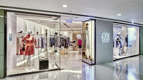 Joan&David clothing store Harbour City Hong Kong.