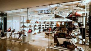 Joy & Peace shoe and bag shop Cityplaza Hong Kong.