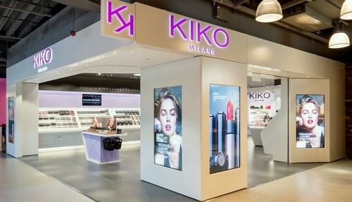 KIKO MILANO beauty store Harbour City Hong Kong.