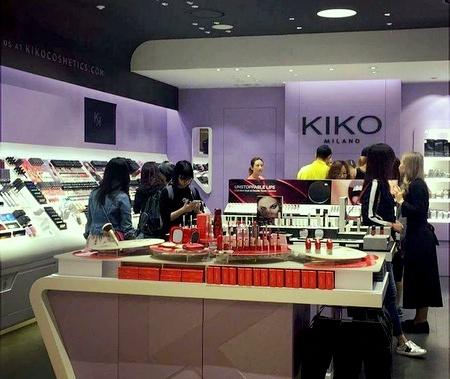 KIKO MILANO cosmetics store Hong Kong.