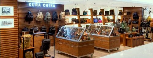 Kura Chika bag store SOGO department store Hong Kong.