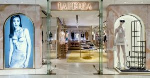 La Perla lingerie shop Harbour City Hong Kong.