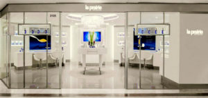 La Prairie cosmetics store Harbour City Hong Kong.