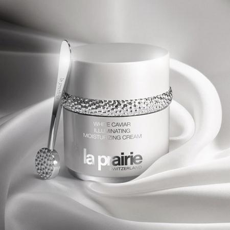 La Prairie White Caviar cosmetics Hong Kong.