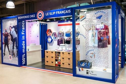 Le Slip Français underwear store Harbour City Hong Kong.