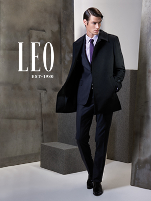 LEO menswear Hong Kong.