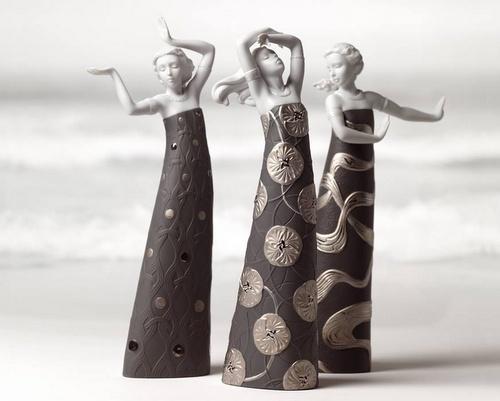 Lladró porcelain figurines Hong Kong.