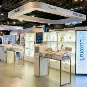 Luxcraft jewelry shop Harbour City Hong Kong.