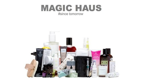 Magic Haus cosmetics store Hong Kong.