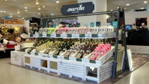 Marcha shoe shop Harbour City Hong Kong.