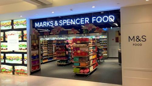 Marks & Spencer Food store Hong Kong.