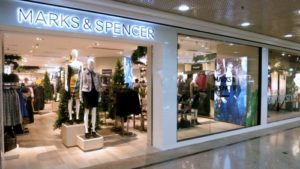 Marks & Spencer store Times Square Hong Kong.