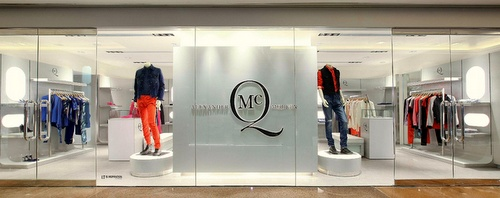 McQ clothing shop Harbour City Hong Kong.