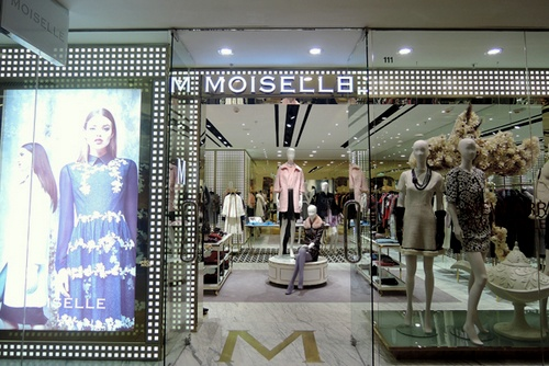 MOISELLE clothing shop Cityplaza Hong Kong.