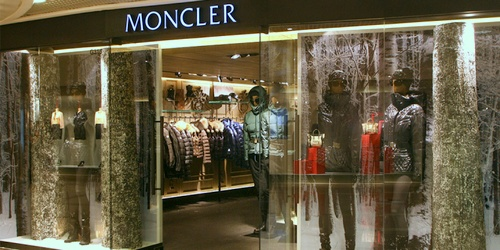 Moncler clothing shop Harbour City Hong Kong.