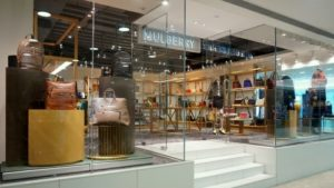 Mulberry store Harbour City Hong Kong.