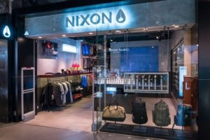 Nixon watch & accessory store Harbour City Hong Kong.