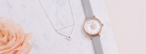 Olivia Burton watch & necklace Hong Kong.