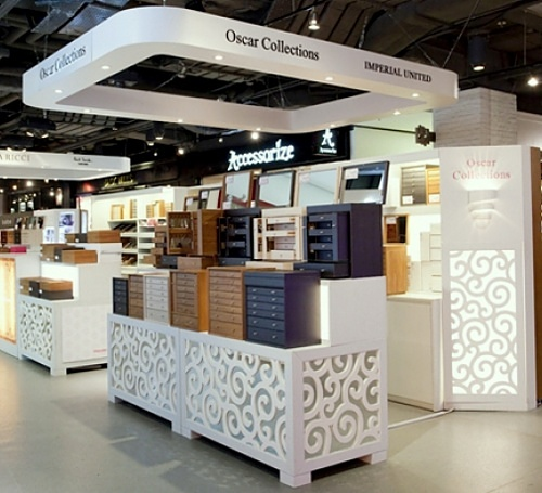 Oscar Collections store Harbour City Hong Kong.