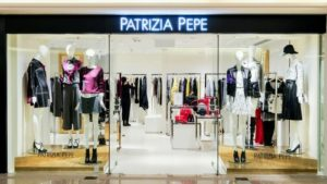 Patrizia Pepe clothing shop Harbour City Hong Kong.