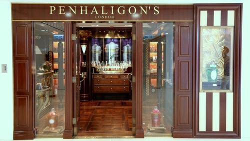Penhaligon's perfume shop Harbour City Hong Kong.